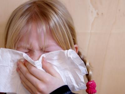 Allergie Mädchen